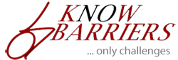 KnowBarriers Only Challenges Logo Image